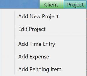 ChronoBeans Admin Project drop down list